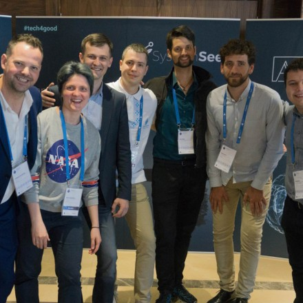 Social impact digital agency SystemSeed team members at DrupalCamp Minsk 2019. Get in touch or join us today!