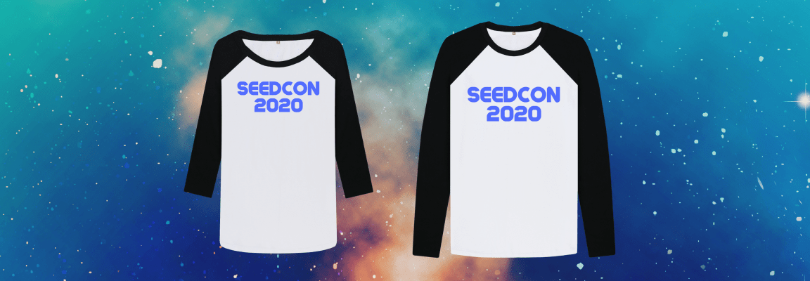 SeedCon 2020 his and hers T-shirts