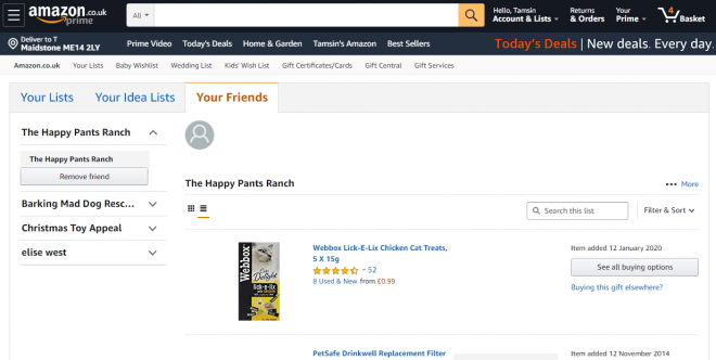 Happy Pants Ranch Amazon Wishlist