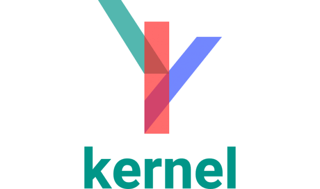 Kernel LMS digital learning platform logo.