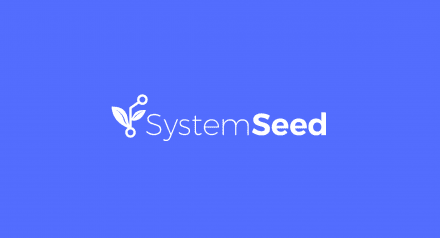 SystemSeed.com logo on blue