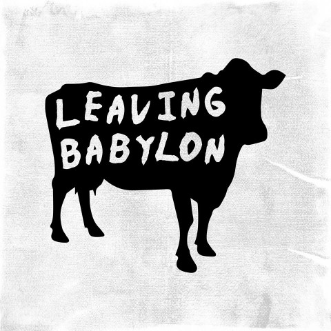 Leaving Babylon cow logo